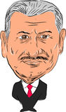 Binali Yï ¿ ½ ldï ¿ ½ rï ¿ ½ m Pierwszorzędny minister Turcja Fotografia Royalty Free