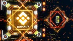 Free Binance Exchange Market Symbol Concept. Blockchain Trading Technology Stock Images - 182483284