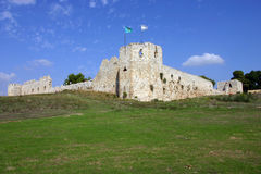 Binar Bashi Ottoman fortress in Antipatris. (Tel-Afek), Israel Royalty Free Stock Photography