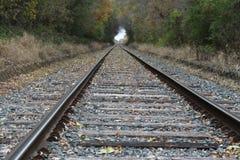 Binari ferroviari Fotografie Stock