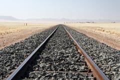 Binari ferroviari Fotografia Stock