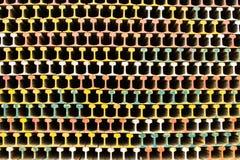 Binari ferroviari d'acciaio Immagini Stock