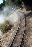 binario ferroviario Fotografia Stock Libera da Diritti
