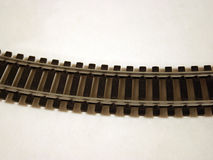 Binario ferroviario fotografie stock