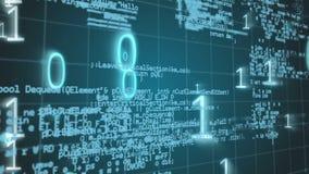 Binario y códigos de programa metrajes