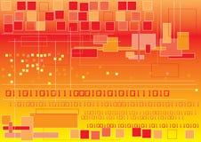 Binario y rectángulos Imagen de archivo libre de regalías