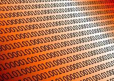 binarna pomarańcze ilustracja wektor