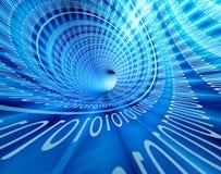 binarna technologia Zdjęcie Stock