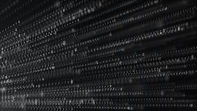 Binarnego kodu technologii abstrakcjonistyczny t?o Du?y Dane Cyfrowania lub hackera poj?cie kod binarny Komputerowi techologies ilustracji