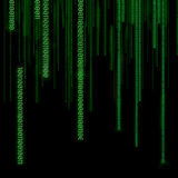 binarni kody Zdjęcia Royalty Free