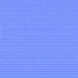 binarny błękitny rozsypisko liczy rejestru spreadsheet Fotografia Stock