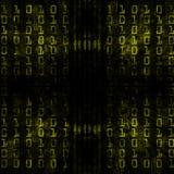 binarny kod Zdjęcia Stock