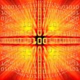 binarny kod Zdjęcie Stock
