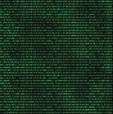 Binarny komputerowy kod ilustracji