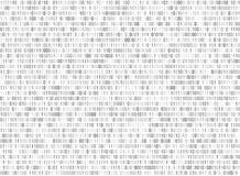 Binarny matrycowy komputerowy dane kodu wektorowy bezszwowy tło Fotografia Royalty Free