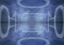 binarny tło Fotografia Stock