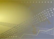 binary предпосылки Стоковая Фотография RF