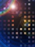 Binary Abstract Royalty Free Stock Photography