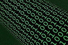 Binary Background stock illustration