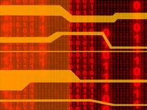 Binary Background 3 Stock Image
