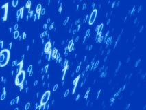 Binary background. Binary field stock images