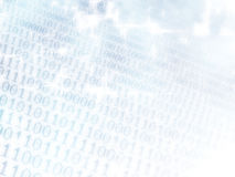 Binary background. Abstract background of digital binary computer language code Royalty Free Stock Photography