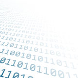 Binary background with blue digits Stock Photography