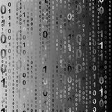 Binary background Stock Photos