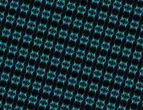 Binary blue diagonal background Royalty Free Stock Photos
