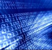 Binary code. Illustration of computer binary code Stock Photos