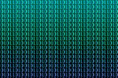 Binary code. Simple binary code background royalty free illustration