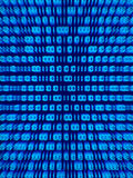 Binary code 2. Blue binary code background display, vertical Royalty Free Stock Photography