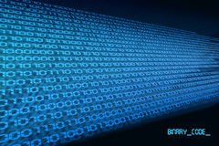 Binary code 2 Stock Photography