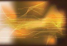 Binary code. Data background illustration Stock Photos