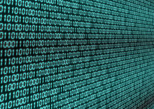 Binary Code Stock Image