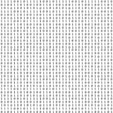 Binary code. Much numerals on white background Stock Photo