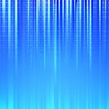 Binary code. Flowing over a blue background. Vector illustration Royalty Free Stock Photo