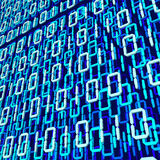 Binary code 3d Stock Images