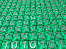 Binary code. Royalty Free Stock Photo