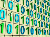 Binary code. Royalty Free Stock Photography