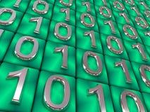 Binary code. Stock Photo