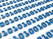Binary code Royalty Free Stock Photos