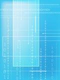 Binary code. Data background illustration vector illustration