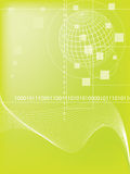 Binary code. Data background illustration Stock Photos