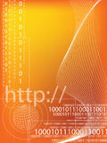 Binary code. Data background illustration Stock Photo