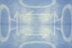 Binary code. Illustration of computer digital binary code in blue Stock Photos
