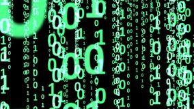 Binary Code Abstract Background Stock Photos
