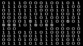 Binary code stock footage