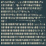 Binary code backdrop Royalty Free Stock Image
