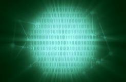 Binary code backdrop. Binary code background with digits on screen. Algorithm binary, data code, decryption and encoding, row matrix vector illustration